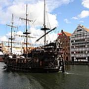 Gdynia Pirate Ship - Gdansk Art Print