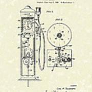 Gears 1935 Patent Art Art Print
