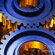 Gears Art Print by Terry Why