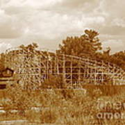 Geauga Lake 2  Art Print
