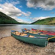 Geirionydd Lake Art Print