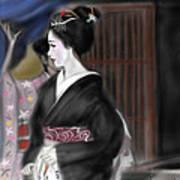 Geisha No.4 Art Print