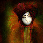 Geisha5 - Geisha Series Art Print