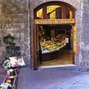 Gelateria Siena Art Print