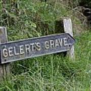Gelerts Grave Art Print