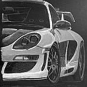 Gemballa Porsche Left Art Print