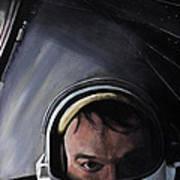 Gemini X- Michael Collins Art Print by Simon Kregar
