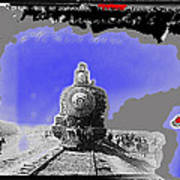 General Benjamin Argumedo's  Troop Train Unknown Mexico Location Or Date-2013 Art Print