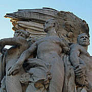 General George Meade Memorial -- Right Side Art Print