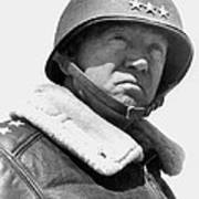 General George Patton Art Print by War Is Hell Store
