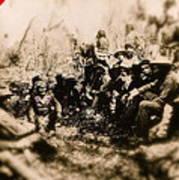 General George R. Crook Negotiating With Geronimo  1886-2008 Art Print