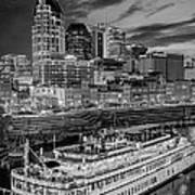 General Jackson Nashville Art Print