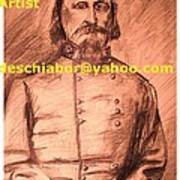General Pickett Confederate  Art Print