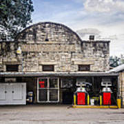 General Store In Independence Texas Art Print