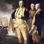 Generals At Yorktown, 1781 Art Print
