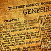 Genesis Art Print