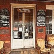 Genoa Saloon Oldest Saloon In Nevada Art Print