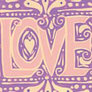 Gentel Love  Art Print