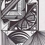 Geo Doodle Art Print