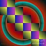 Geometrca 203 Art Print