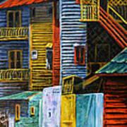 Geometric Colours I Art Print by Xueling Zou