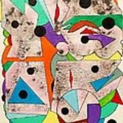 Geometric Conundrum Art Print