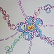 Geometric Greeting Art Print