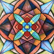 Geometric Symmetry Art Print