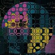 Geomix 14 - J049173176b2t Art Print