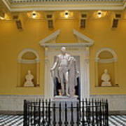 Georg Washington Statue - Capitol Richmond Art Print
