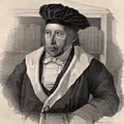 Georg Wilhelm Friedrich Hegel Art Print
