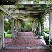 George Eastman Home Pergola Rochester Ny  Art Print