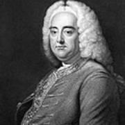 George Frederic Handel Art Print