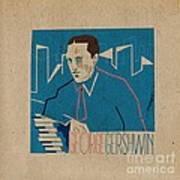 George Gershwin Art Print