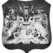 George IIi: Coat Of Arms Art Print