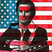 George Jones American Country Art Print