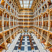 George Peabody Library I Art Print