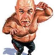 George The Animal Steele Art Print by Art