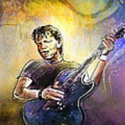 George Thorogood In Cazorla In Spain 02 Art Print