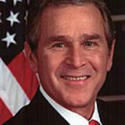 George W Bush Art Print