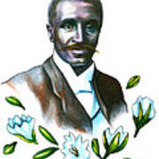 George Washington Carver Art Print