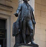 George Washington Statue Art Print