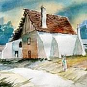 George's House Art Print by Sam Sidders