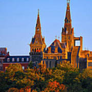 Georgetown University Art Print