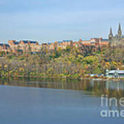 Georgetown University Neighborhood Art Print by Olivier Le Queinec