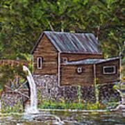 Georgia Mill Art Print by Leo Gehrtz
