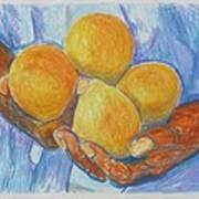 Georgia Peach Art Print