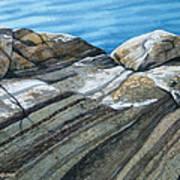 Georgian Bay Shadowplay Art Print