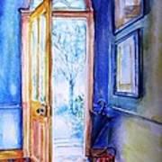 Winter Doorway Ireland    Art Print