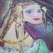 Georgiana And The Ring Art Print by Judith Desrosiers